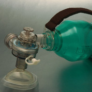 Rescuer BVM Resuscitator Infant Disposable with Handle & No 1 Mask