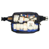 Harper Pack Bum Bag - Black with Half Rear Panel, Lumbar Grip