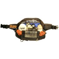 Harper Pack Bum Bag - Black with Full Rear Panel, Lumbar Grip
