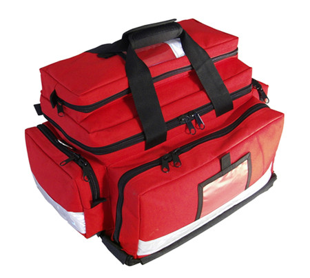 14035A-R  Large Trauma Bag Red