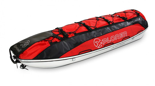 30200 Xpedition Pulk 168 Red  Front angle