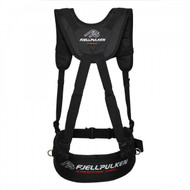Fjellpulken Xpedition Pro Reinforced Skier Harness Black