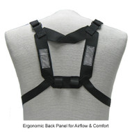 Coaxsher XL Back Straps Ergonomic Back Panel for Airflow & Comfort