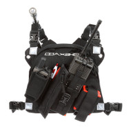 Coaxsher Pro Radio Harness, Adjustable Radio/Mobile/GPS Slots
