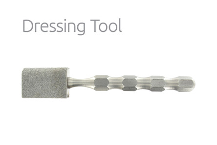 Dressing Tool with Diamonds