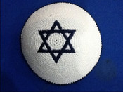 Knitted pin 204- Be a Star....A Jewish Star!