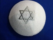 Knitted pin 207- Be a Star....A Jewish Star!