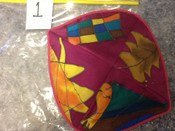 Gorgeous Silk Kippah # 1