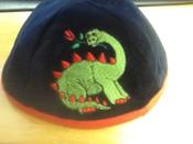 Dinosaur on Velvet