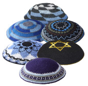 Assorted Knit Kippot 50
