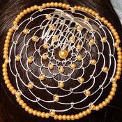 Light Copper Single Bead