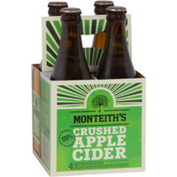 MONTEITHS APPLE CIDER 4 PACK