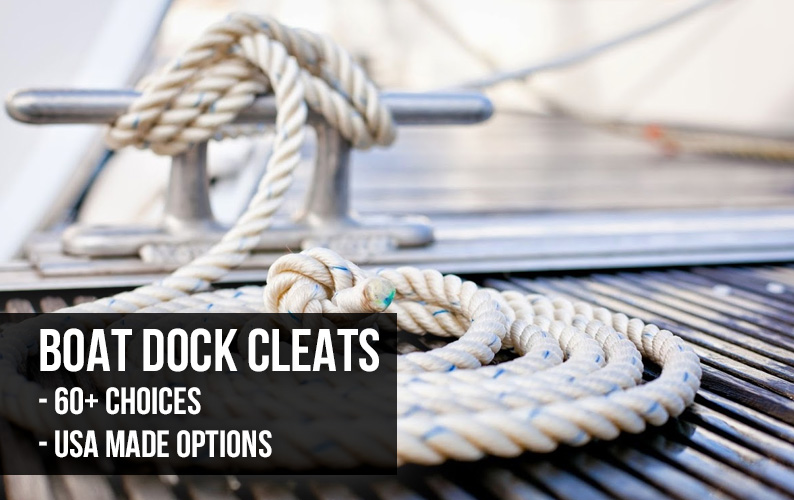 Dock Cleats And Boat Cleats At Harborware