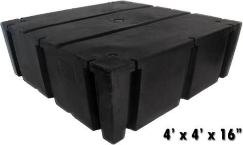Harborware 4 X 4 X 16 Quot Dock Float Drums 1074lbs