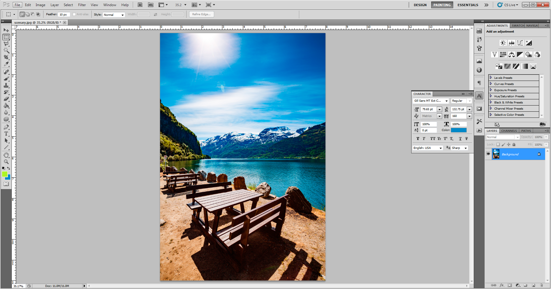 Canvas Image Setup 2