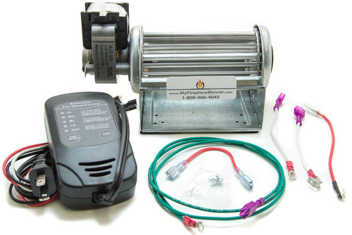 GFK21B Blower Kit | Heatilator Fireplace Blower Fan Kit | ND3630 ...