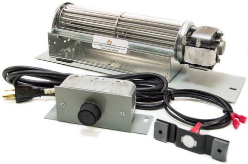 Fireplace Insert Blowers And Fans : Fk blower kit fireplace fan for vermont