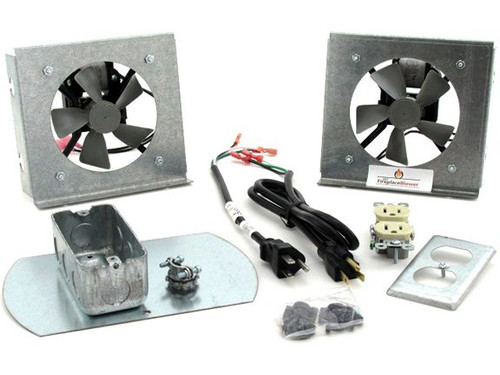 FK18 Blower Kit | Fireplace Fan Kit for Heatilator Fireplaces