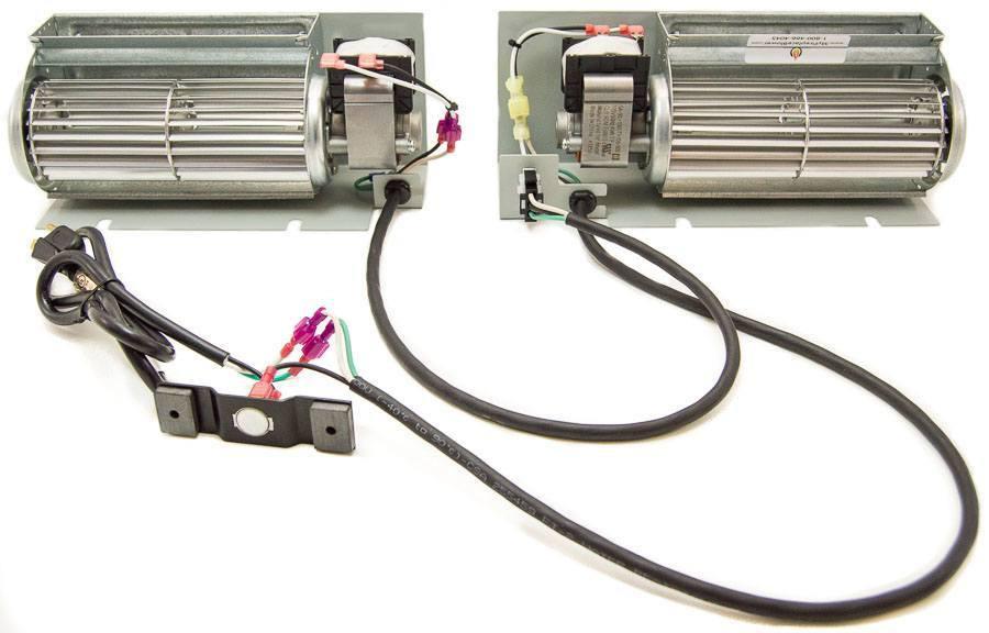 600 1 Fireplace Blower Fan Kit For Kozy Heat Fireplaces