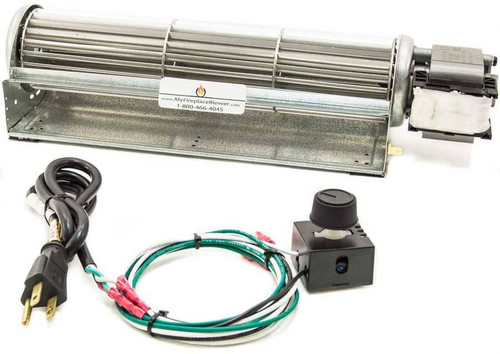 Fireplace Blowers And Fans : Bk blower kit fireplace fan for vanguard