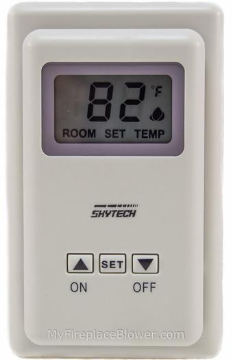skytech ts 3 thermostat myfireplaceblower