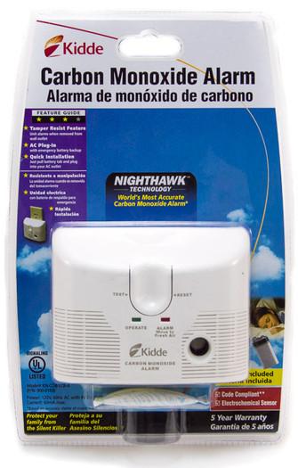 Carbon Monoxide Alarm Kidde