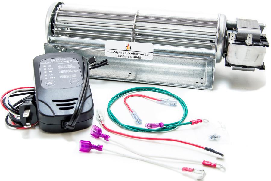 Gfk4b Blower Kit Heatilator Fireplace Blower Fan Kit