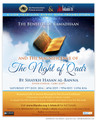 The Benefits Of Ramadhaan And The Magnificence Of The Night Of Qadr by Ash-Shaykh Hasan ibn 'AbdulWahhab al-Banna