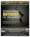 The Permissible & Impermissible Differing In Islaam by Shaykh Muhammad Baazmool