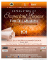 Weekly Online Class with Shaykh Muhammad 'Akoor - Explanation of Important Lessons For The Muslims By Imaam 'Abdul'Azeez Ibn Baaz