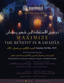 Taking Full Advantage of Ramadhaan by Shaykh Bandar al-Khaybaree
