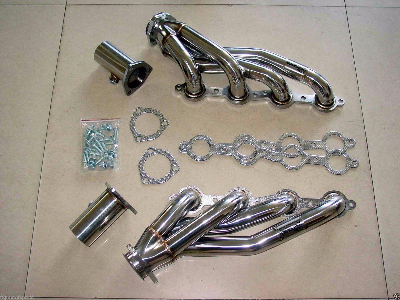 LS1 LS6 LSX LS2 LS7 LS9 Universal Stainless Shorty Chevrolet Engine Swap  Header