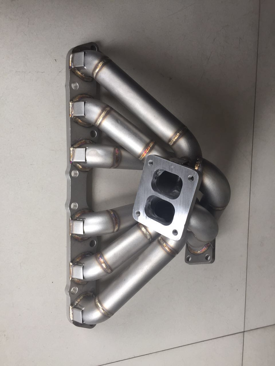 DUAL SCROLL T4 Top Mount Turbo Manifold 1JZGTE 1JZ-GTE 1JZ GS300 SC300  Supra MK3