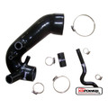 Audi A4 Passat B5 1.8T BLACK Turbo Induction Intake Pipe Inlet Silicone Hose Kit