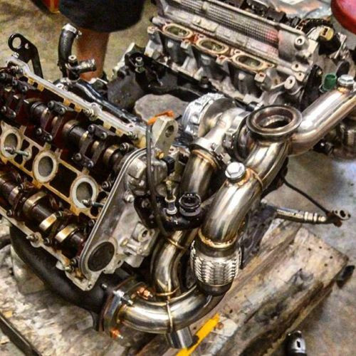 B5 S4 AUDI 2 7 Single Turbo Kit PTE TURBO flange Upgrade