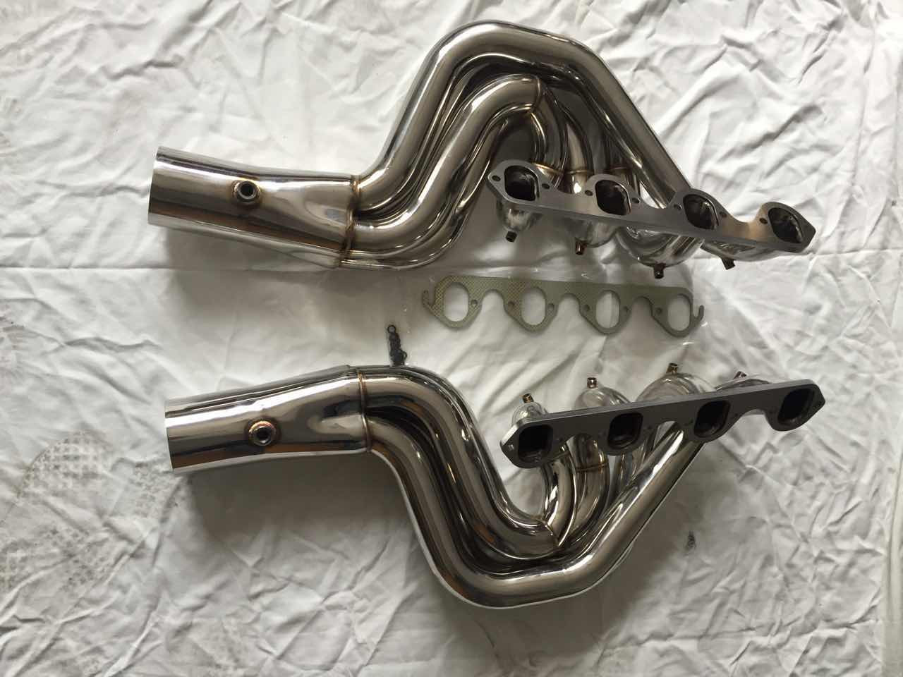 Big Block Ford Thru Transom Exhaust 460 Jet Race Boat Water Injected Headers