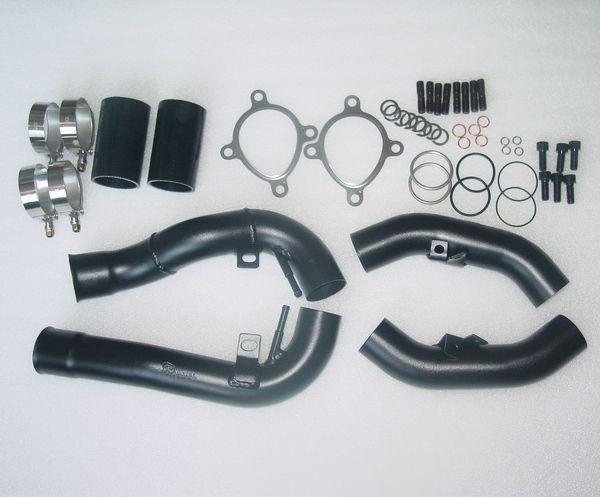 2 7l Allroad Audi Rs4 B5 Turbo Inlet Pipes Black S4 K04 Ssautochrome Inc