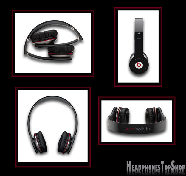 Beat by Dre solo hd black