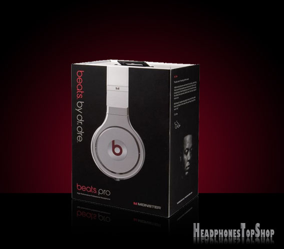 Pro Monster Beats by Dre Headphones - Box