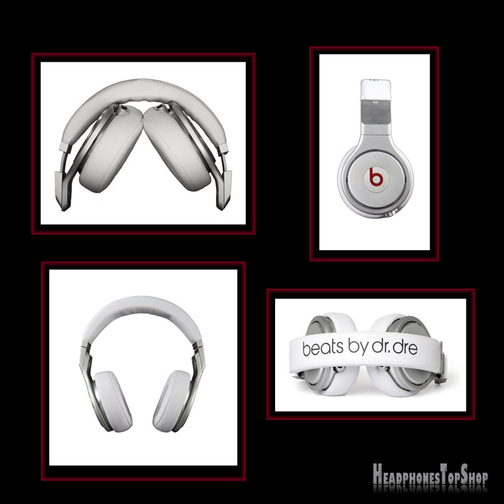 Monster Beats by Dr. Dre Headphones - Pro White