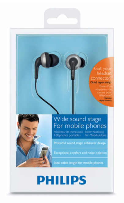 Philips Shh8808 Earbuds - Box