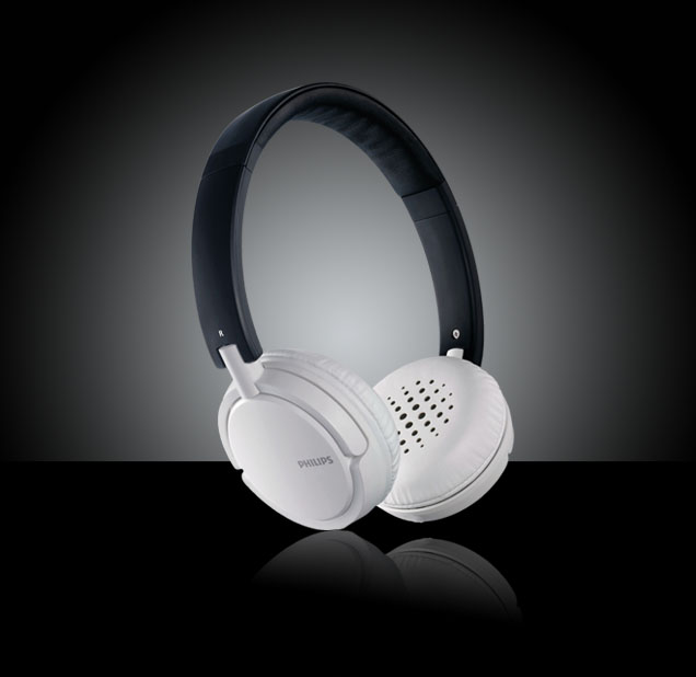 Philips SHL5003/28 On Ear Headphones - Grey
