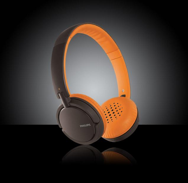Philips SHL5001/28 Headphones - Orange