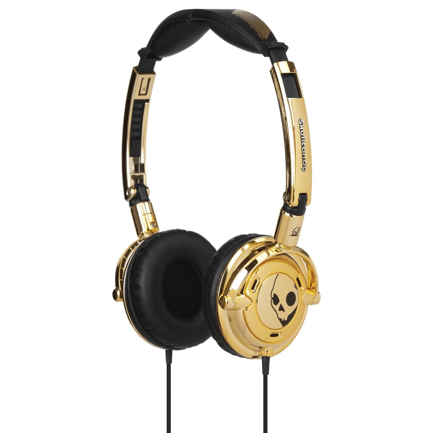 Skullcandy Lowrider Earphones Gold