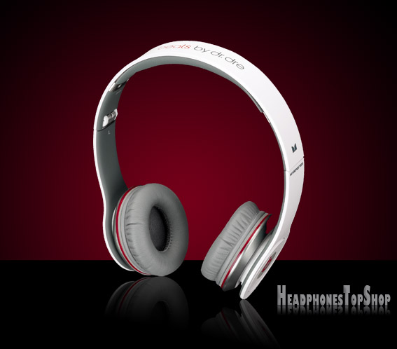 Beat by Dre solo hd white headphones