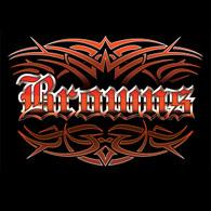 Browns Tattoo Hoodie