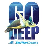 Go Deep, Sea Turtle Hoodie