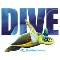 DIVE, Sea Turtle Hoodie