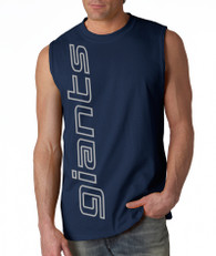 Giants Sleeveless Navy Vert Shirt™