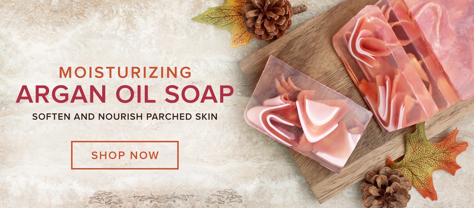 Moisturizing Argan Oil Soap